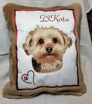 K9 Hero Pillow Project